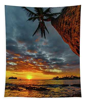 A Typical Wednesday Sunset Tapestry