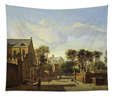 A View In Cologne With The Karthausekirche And St. Panthaleon Tapestry