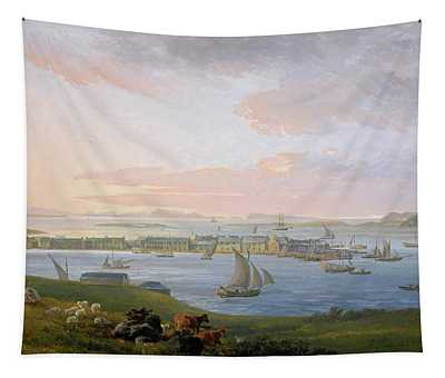 A View Of Stornoway, 1798 Tapestry