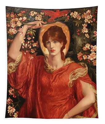 A Vision Of Fiammetta 1878 Tapestry