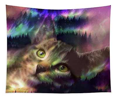 A Wild World  Tapestry