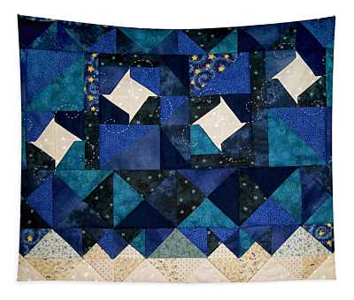 A Winter Snowscape Tapestry