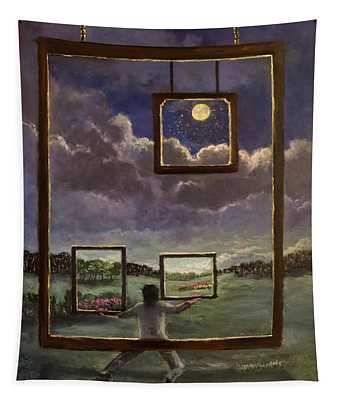 A World Of Visions Tapestry