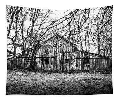 Abandoned Barn Highway 6 V1 Tapestry