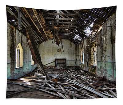 Abandoned Church #1 Tapestry