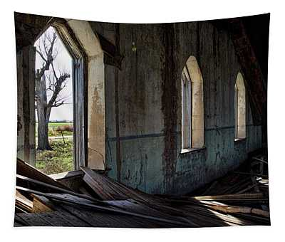 Abandoned Church #2 Tapestry
