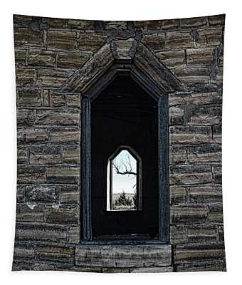 Abandoned Church #3 Tapestry