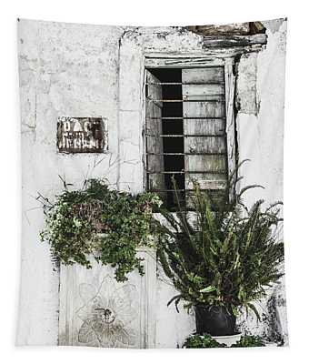 Abandoned House Tapestry