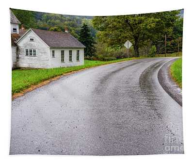 Abandoned School Tapestry