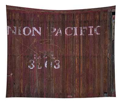 Abandoned Up Caboose Tapestry
