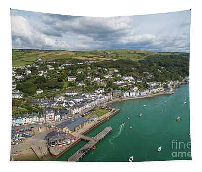 Aberdyfi From The Air Tapestry