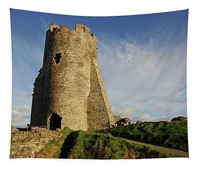 Aberystwyth. The Castle Gatehouse. Tapestry