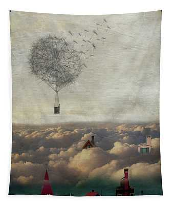 Above And Below Tapestry