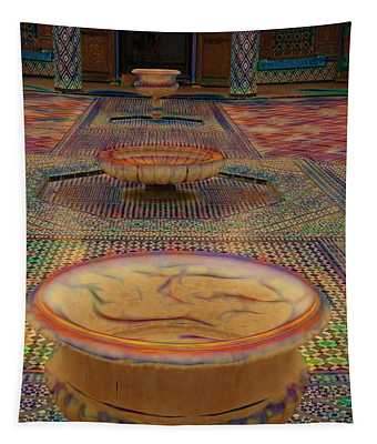 Abstract Architecture Morocco  Tapestry