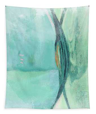 Abstract Colored Glass II Tapestry