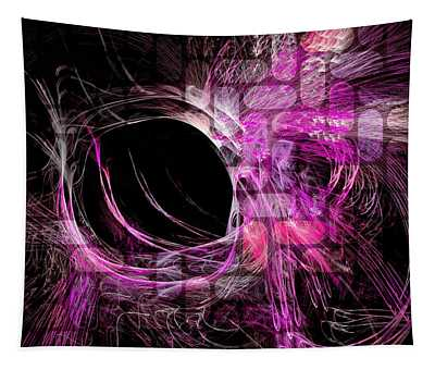 Abstract Heaven Magenta Tapestry