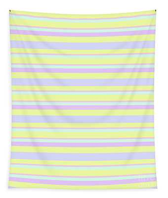 Abstract Horizontal Fresh Lines Background - Dde596 Tapestry