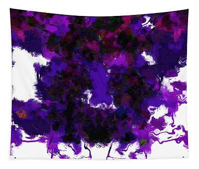 Abstract In Purple - Dwp3018481 Tapestry