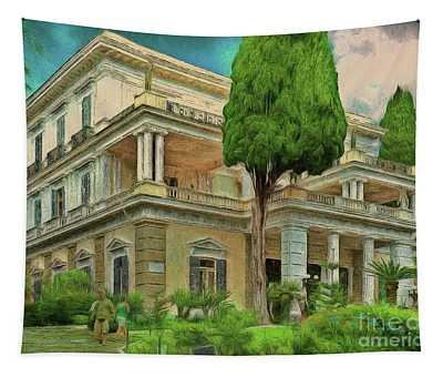 Achilleion Palace Corfu Tapestry