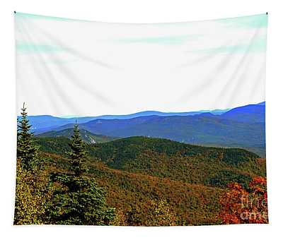 Tapestry featuring the photograph Across The Ridgetops by Patti Whitten
