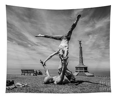 Acroyoga In Aberystwyth Tapestry