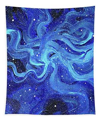 Acrylic Galaxy Painting Tapestry