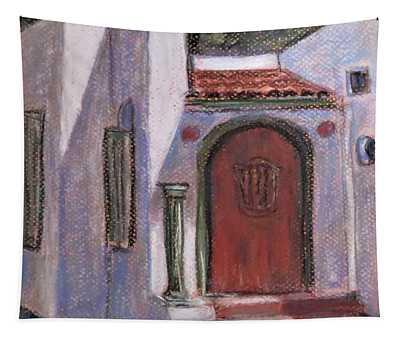 Adobe At Rancho Camulos Tapestry