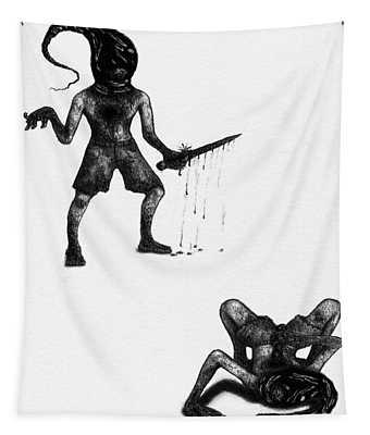 Adriano The Darkstalker - Artwork Tapestry