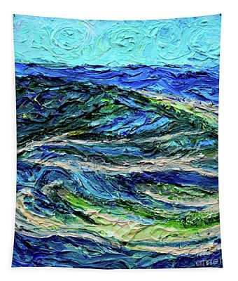 Aerial View Of Presque Isle Lake Erie Tapestry