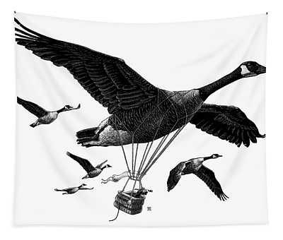 Aero Canada - Bw Tapestry