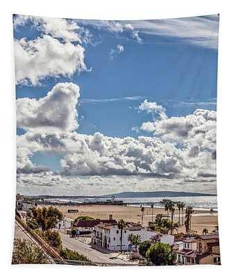 After The Rain - Santa Monica - Panorama Tapestry