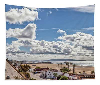 After The Rain - Santa Monica - Panorama Tapestry