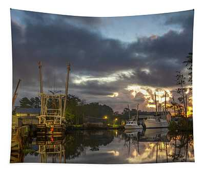 After The Storm Sunrise Tapestry