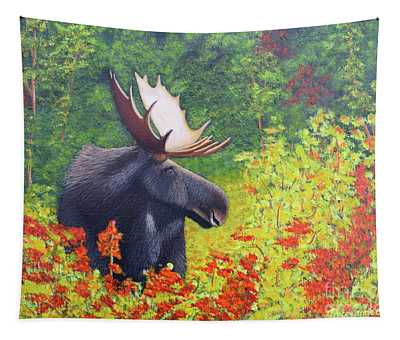 Afternoon Munch Tapestry