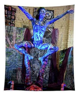 Aien Crane Tapestry