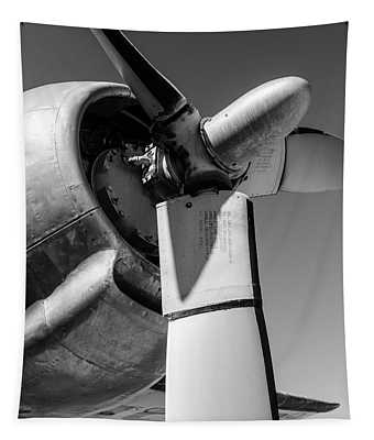 Airplane Propeller Tapestry