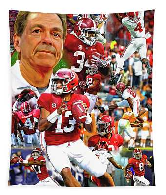 Alabama Football 2018 Team Tapestry