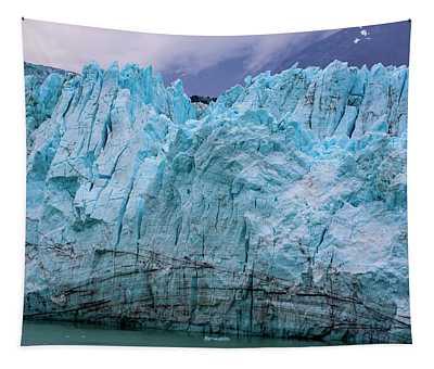 Alaskan Blue Glacier Ice Tapestry