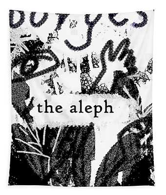 Aleph Borges Arthouse Poster  Tapestry