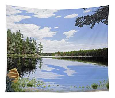 Algonquin Portage Tapestry