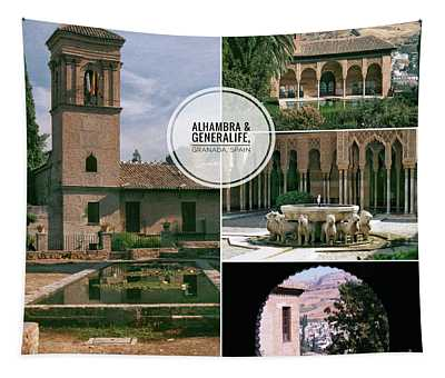 Alhambra And Generalife Tapestry