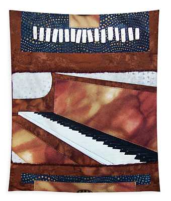 All That Jazz Piano Tapestry