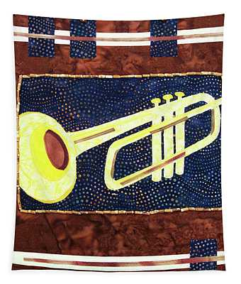All That Jazz Trumpet Tapestry