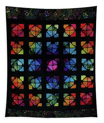All The Colors Tapestry