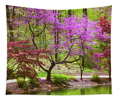 Along The Restful Path Tapestry