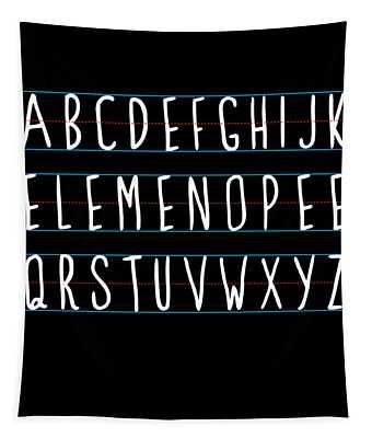 Alphabet Elemeno Tapestry