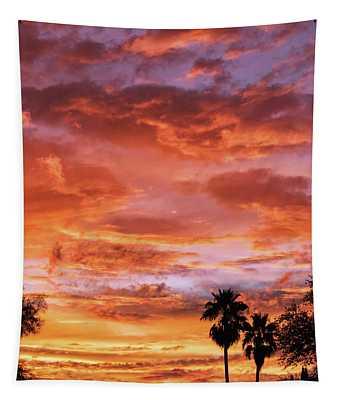 Amazing Arizona Sunsets Tapestry