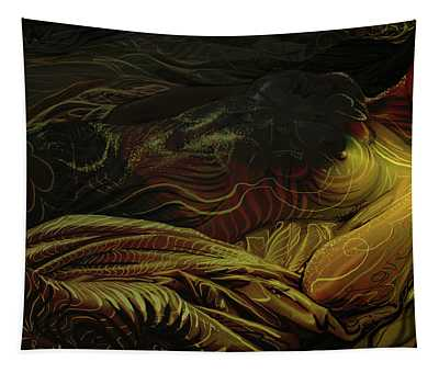 Amber Light Tapestry