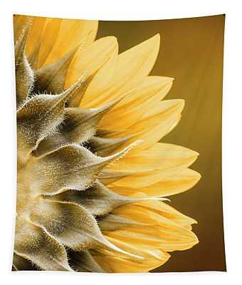 Amber Sunflower Tapestry