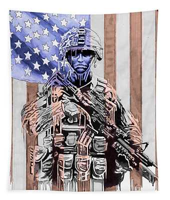 American Soldier Tapestry